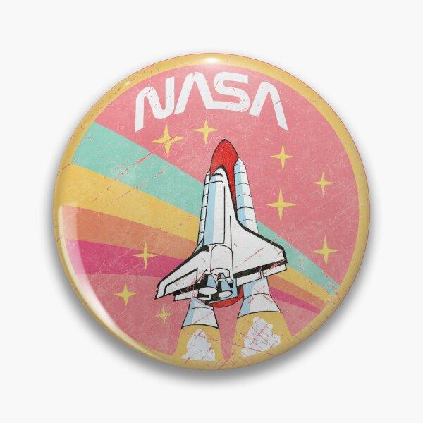 Nasa Pastel Colors - Soft Pink Edition Pin