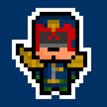 Pixel Judge Dredd by PixelBlock