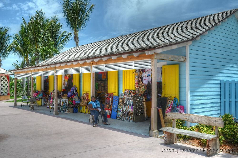 Pompey Market Place in Nassau, The Bahamas by Jeremy Lavender Photography