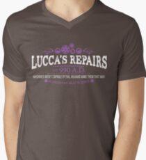 Nothing Beats Science: Color Option Mens V-Neck T-Shirt