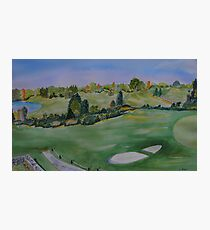 The Links of Fenner Hill Photographic Print