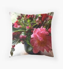 The Constance Spry Influence Throw Pillow