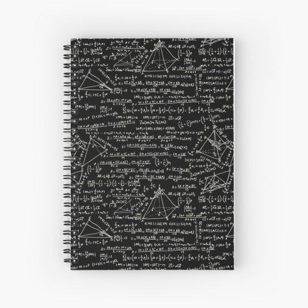Equations Spiral Notebook