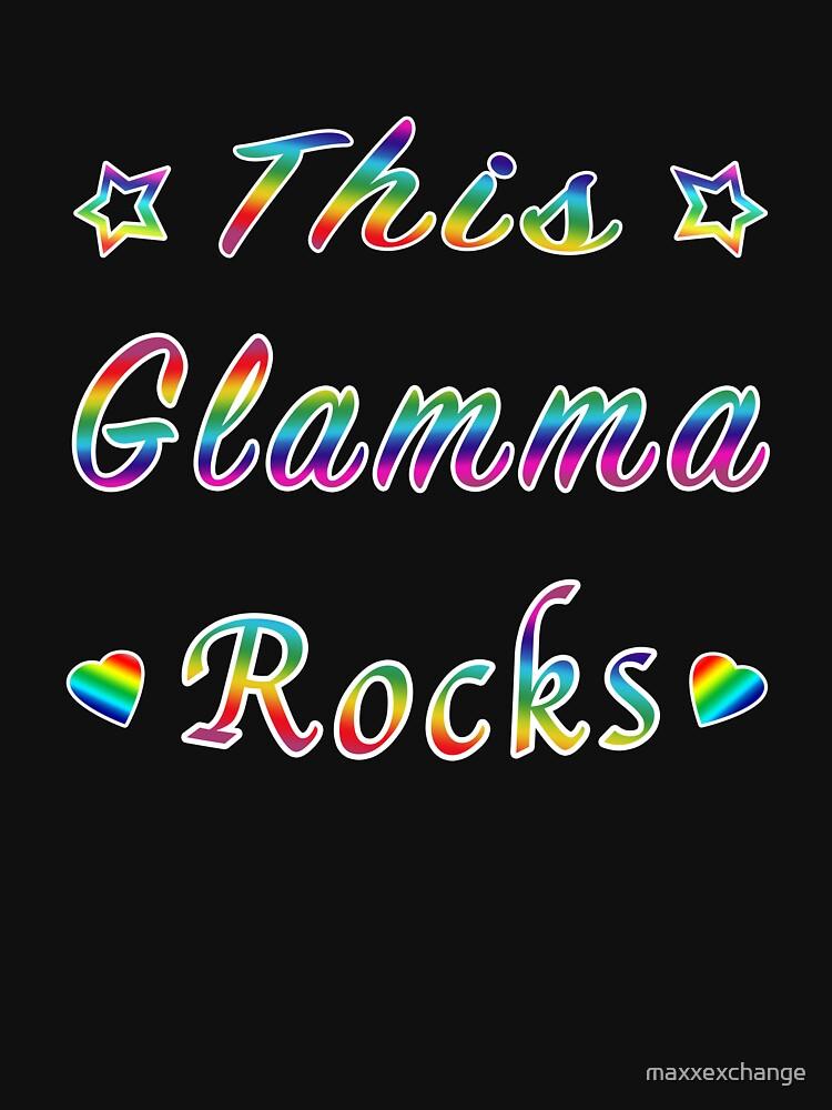 This Glamma Rocks Matriarch Hottie Funny Gift. by maxxexchange