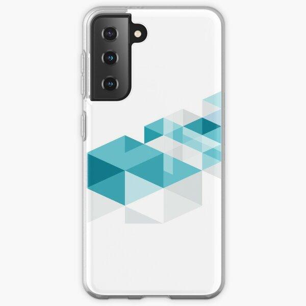 Geometric cube Samsung Galaxy Soft Case