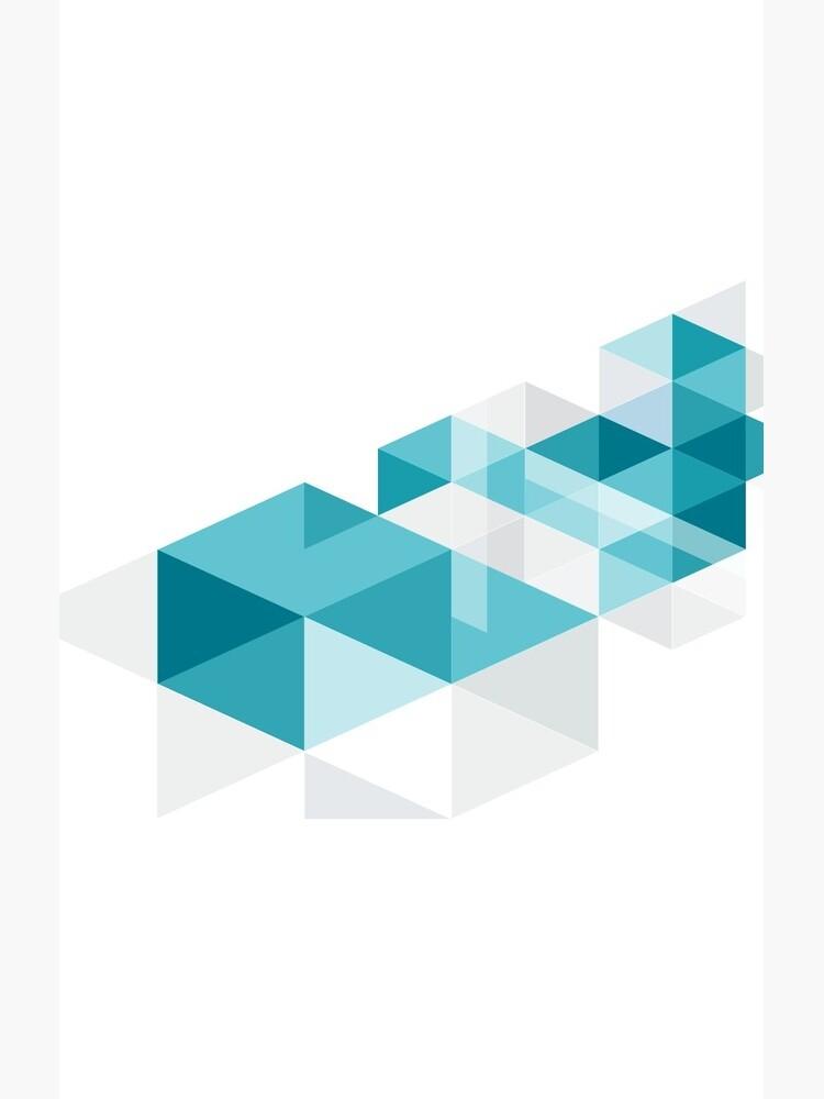 Geometric cube by robotllama