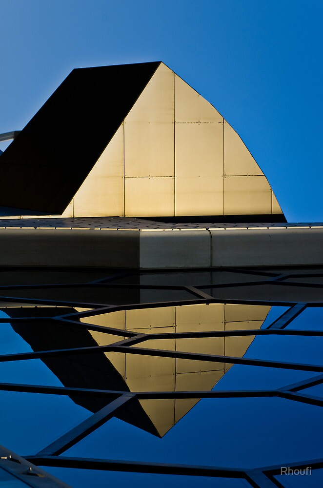 Reflectionism and the Blues by Rhoufi
