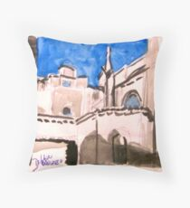 Cathedral Roofs of Aix Throw Pillow