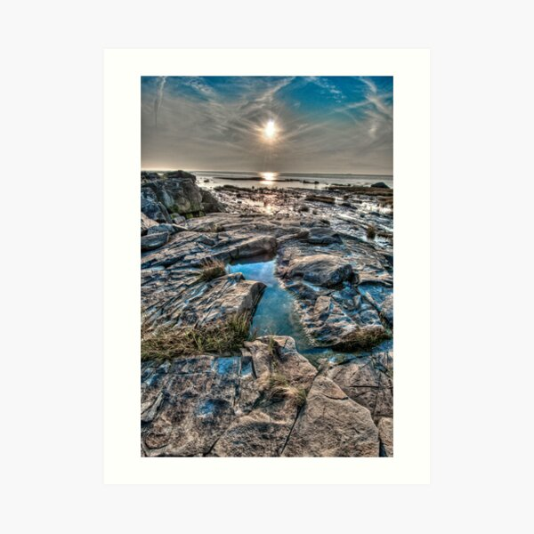 Sunset on the St. Lawrence River Art Print