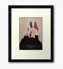 Lámina enmarcada Les Miserable - Victor Hugo