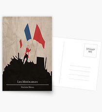 Postales Les Miserable - Victor Hugo