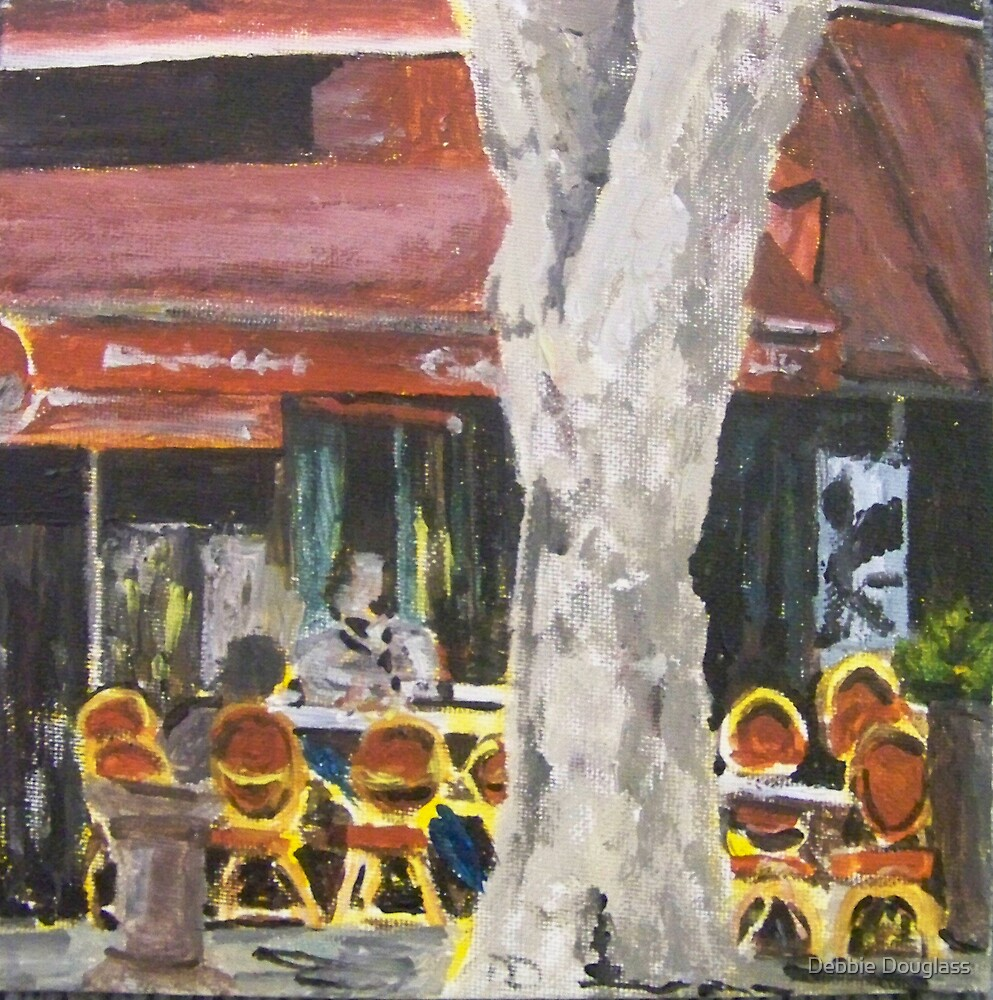 La Cafe' by Debbie Douglass
