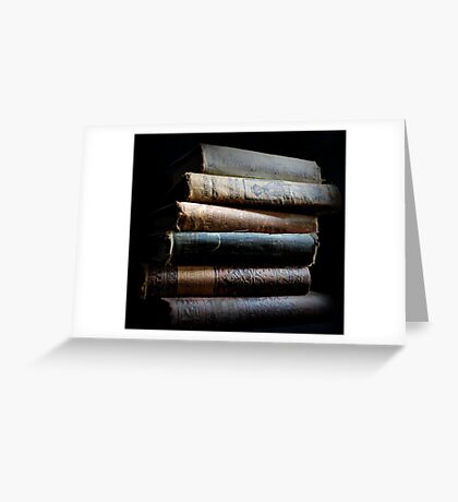Can't Do This with E Books Greeting Card