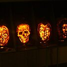 Scary Pumpkin Faces, The Great Jack O'Lantern Blaze  by Jane Neill-Hancock