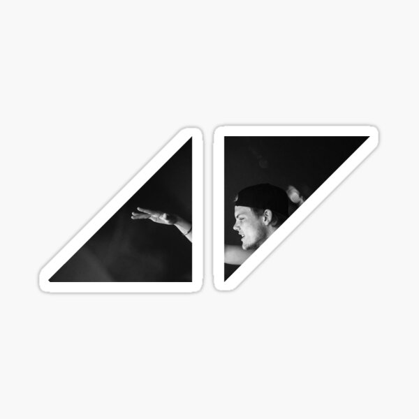 Logo triangle Avicii Songs Sticker