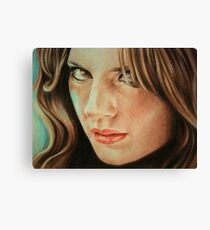 Kate Beckett Canvas Print