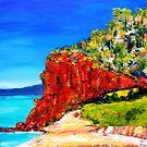 """Red Bluff"" Mornington Beach by Belinda ""BillyLee"" NYE (Printmaker)"