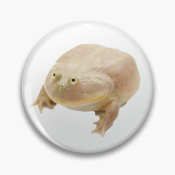 Fat Frog Meme Pin