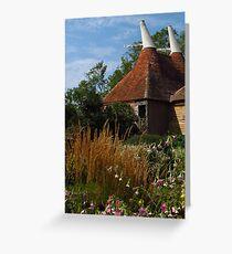 Oast House Garden Greeting Card