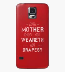 Shakespeare In The Park? Case/Skin for Samsung Galaxy