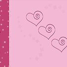 Pink Hearts! by Rachael Ryan