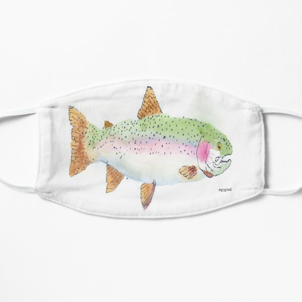 George's rainbow trout Mask