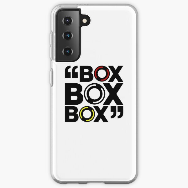"""Box Box Box"" Formula 1 Tyre Compound Design Samsung Galaxy Soft Case"