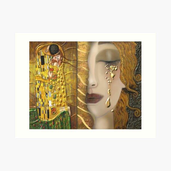 My Klimt Serie:Gold Art Print