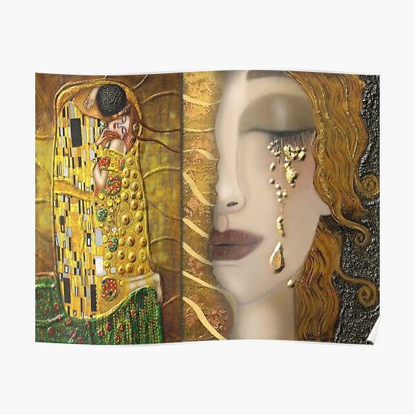My Klimt Serie:Gold Poster
