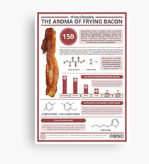 The Aroma of Frying Bacon Canvas Print