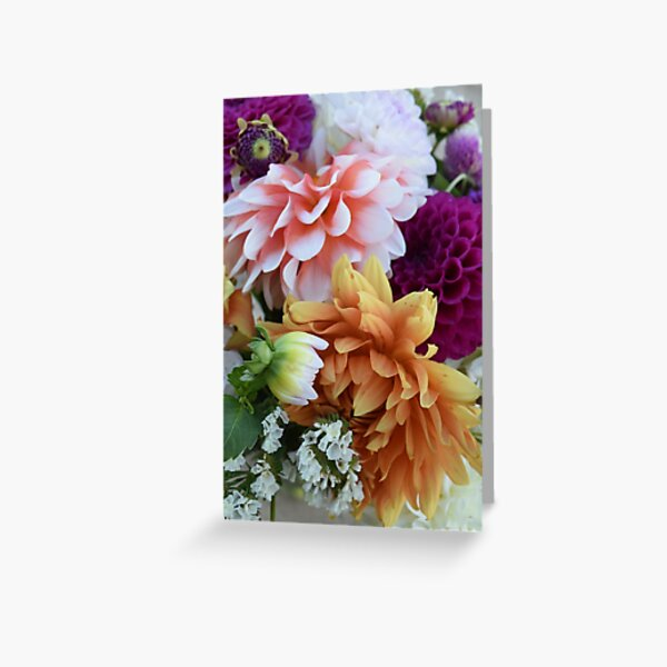 Floral Bouquet  Greeting Card