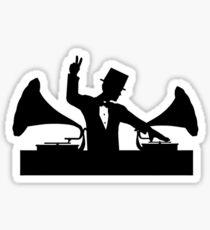 Let's Party Like It's... 1923! ...Peace! Sticker
