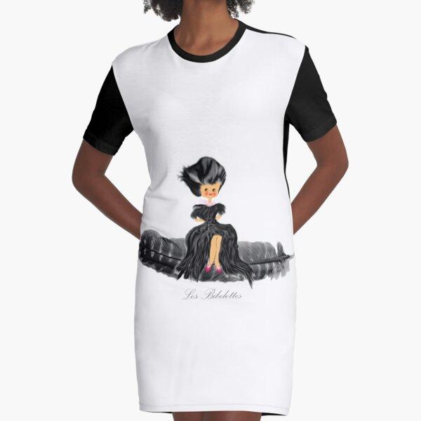 Voyage mauve Les Bibelettes Robe t-shirt