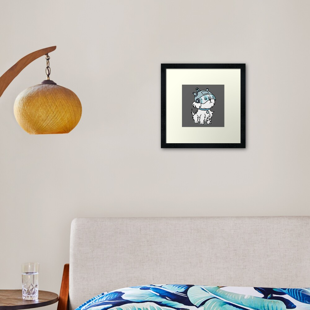 Snuffles | Rick and Morty Framed Art Print