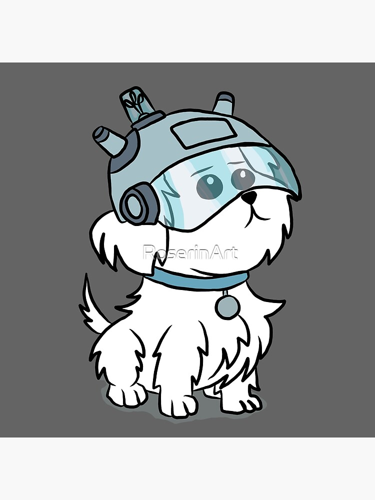 Snuffles | Rick and Morty by RoserinArt