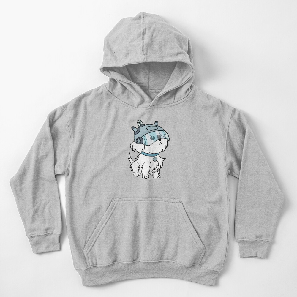 Snuffles | Rick and Morty Kids Pullover Hoodie