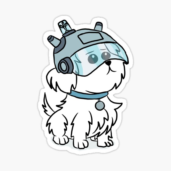 Snuffles | Rick and Morty Sticker