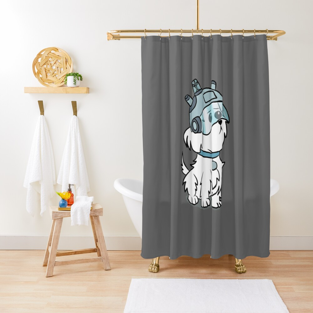 Snuffles | Rick and Morty Shower Curtain