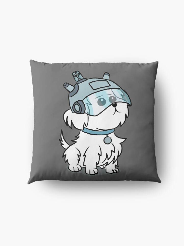 Alternate view of Snuffles | Rick and Morty Floor Pillow