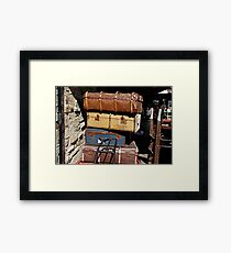 LUGGAGE .  Framed Print