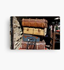 LUGGAGE .  Canvas Print