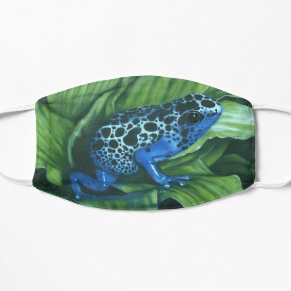 Blauer Pfeilgiftfrosch Maske