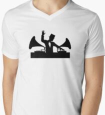 Let's Party Like It's... 1923! ...Vulcan Style! Men's V-Neck T-Shirt