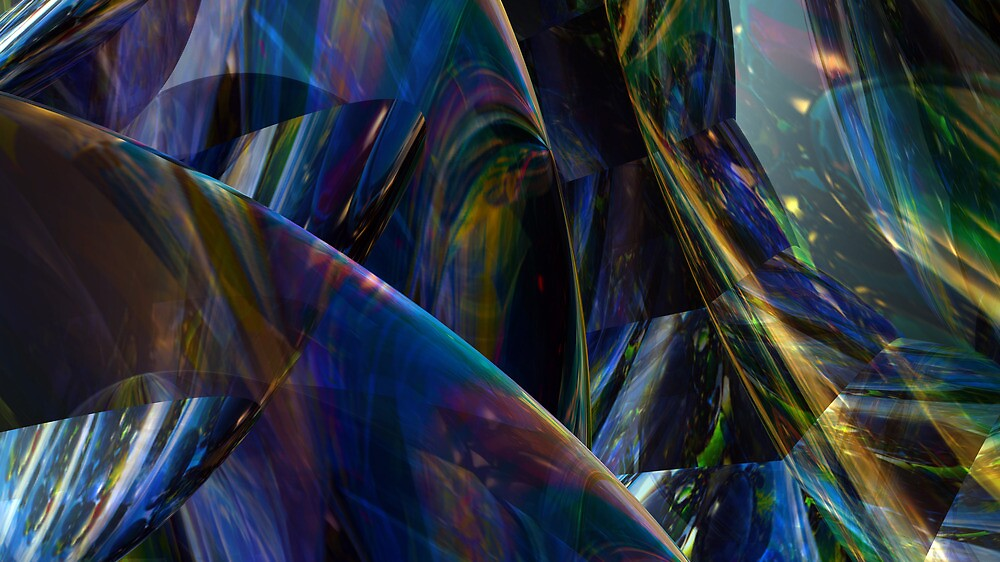 Crystal Vision III by Hugh Fathers