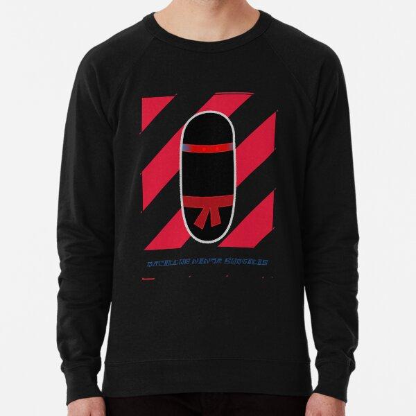"Bacillus ""ninja"" subtilis Lightweight Sweatshirt"