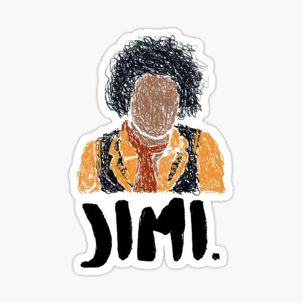 Jimi Scribble Sticker