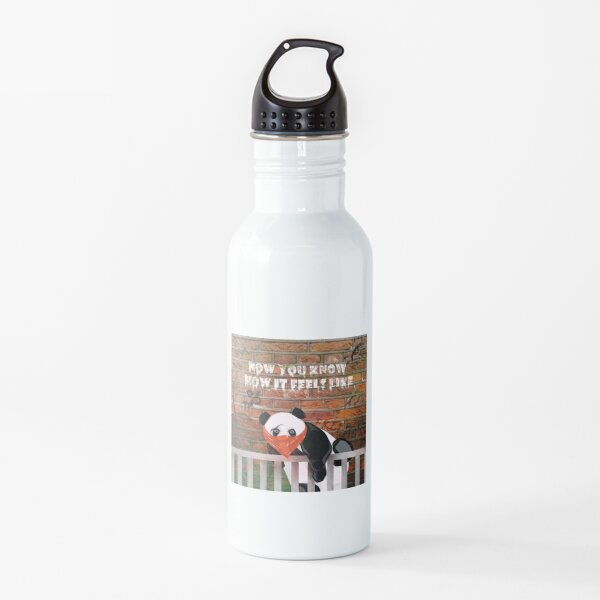 The Panda in the Zoo Water Bottle