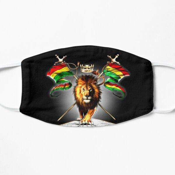 Lion rasta Masque sans plis