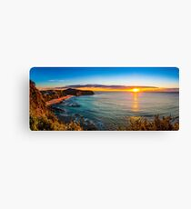evocative sunrise Canvas Print