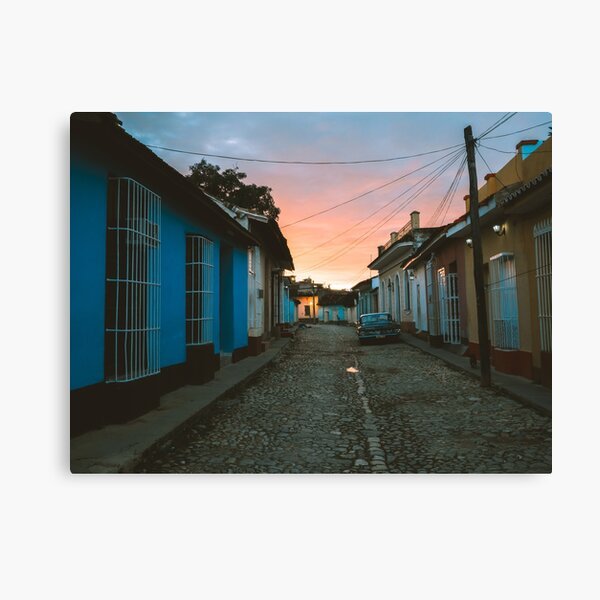 Sunset in Trinidad de Cuba Canvas Print Canvas Print